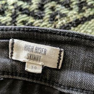 Madewell high riser skinny 30